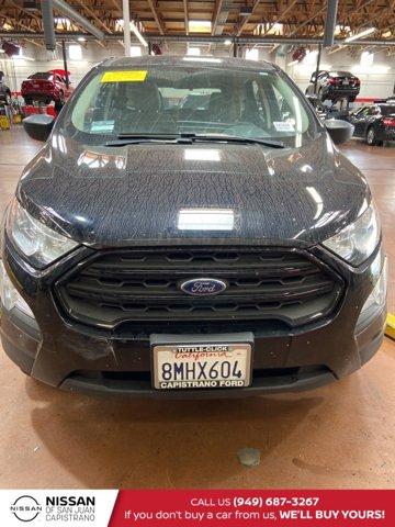 2019 Ford EcoSport S S FWD Intercooled Turbo Regular Unleaded I-3 1.0 L/61 [3]