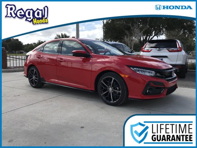 New 2020 Honda Civic Hatchback in Lakeland, FL