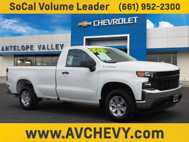 """2020 Chevrolet Silverado 1500 Work Truck 2WD Reg Cab 140"""" Work Truck Gas V8 5.3L/325 [1]"""