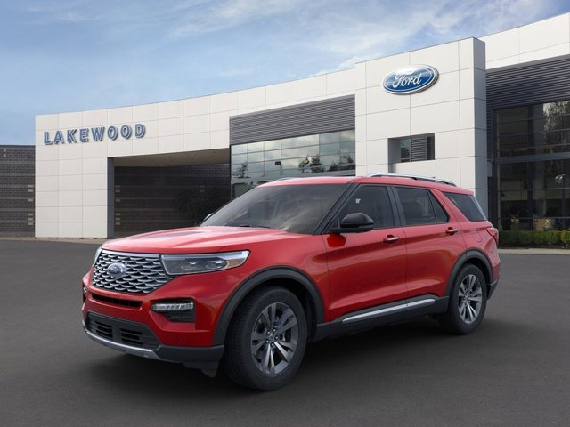 New 2020 Ford Explorer in Tacoma, WA