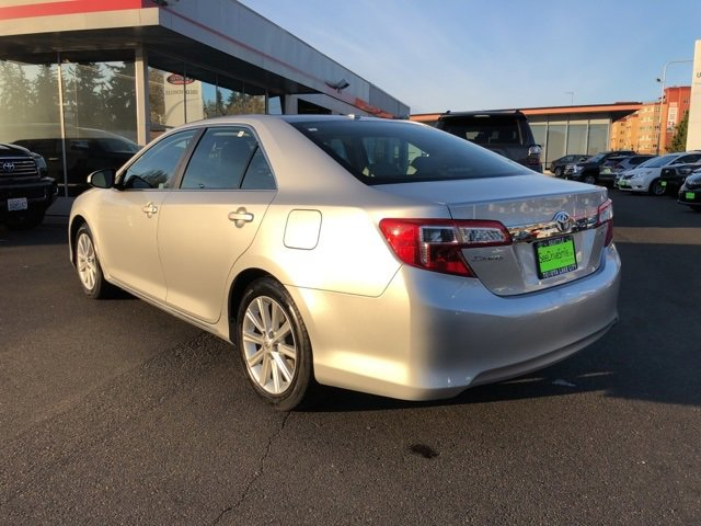 2012 Toyota Camry 4dr Sdn I4 Auto XLE