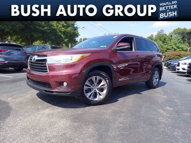 2015 Toyota Highlander LE Plus AWD 4dr V6 LE Plus Regular Unleaded V-6 3.5 L/211 [7]