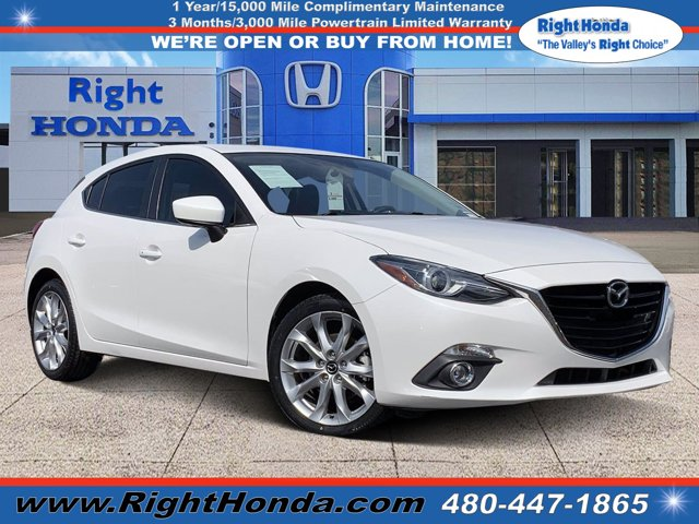2014 Mazda Mazda3 s Grand Touring 5dr HB Auto s Grand Touring Regular Unleaded I-4 2.5 L/152 [10]