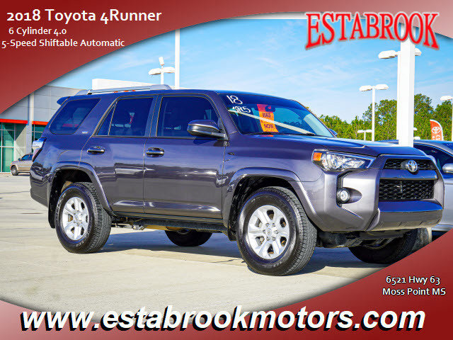 Used 2018 Toyota 4Runner in Moss Point, MS