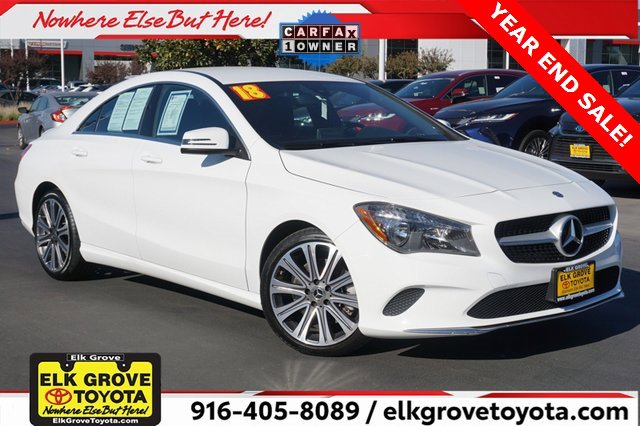 Used 2018 Mercedes-Benz CLA CLA 250 Coupe