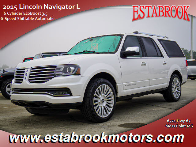 Used 2015 Lincoln Navigator L in Moss Point, MS