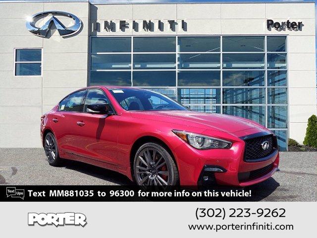 2021 INFINITI Q50 RED SPORT 400 RED SPORT 400 AWD Twin Turbo Premium Unleaded V-6 3.0 L/183 [9]