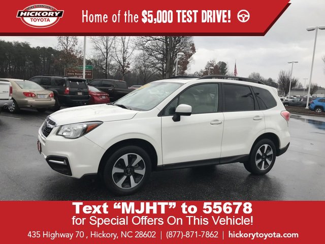 Used 2018 Subaru Forester in Hickory, NC