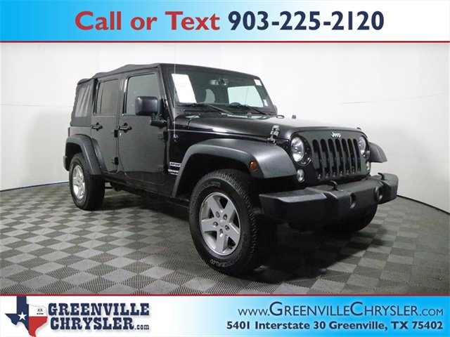 Used 2015 Jeep Wrangler Unlimited in Greenville, TX