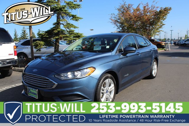 Used 2018 Ford Fusion Hybrid in Tacoma, WA