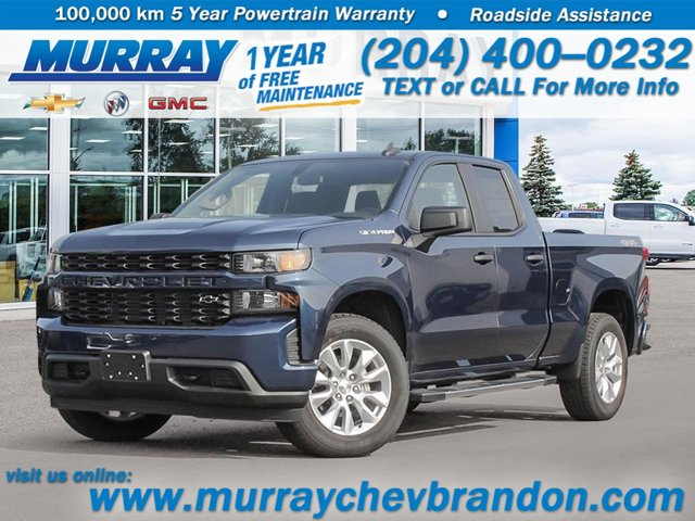2020 Chevrolet Silverado 1500 Custom 4WD Double Cab 147″ Custom Gas V8 5.3L/325 [0]