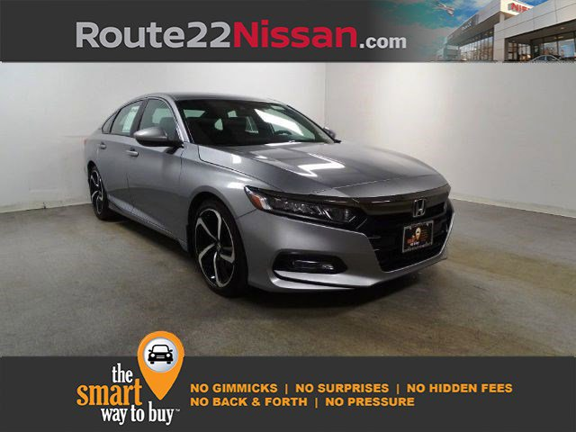 2018 Honda Accord Sedan Sport 1.5T Sport 1.5T CVT Intercooled Turbo Regular Unleaded I-4 1.5 L/91 [1]