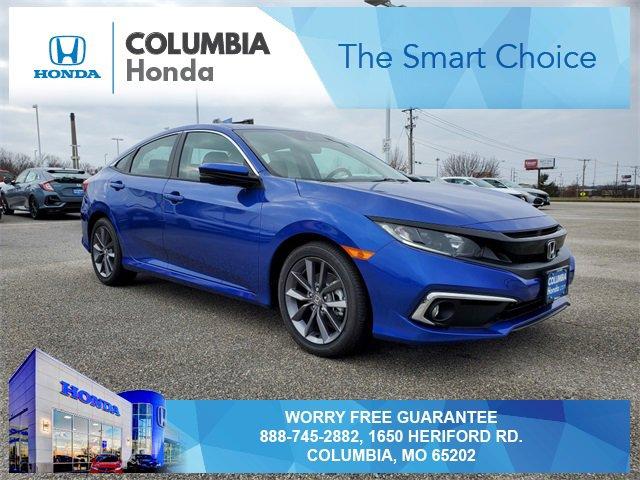 New 2020 Honda Civic Sedan in Columbia, MO
