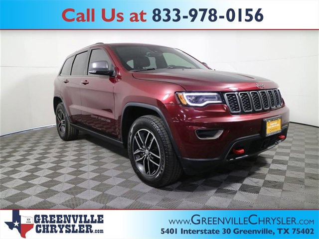 Used 2017 Jeep Grand Cherokee in Greenville, TX