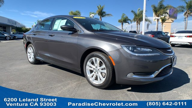 2016 Chrysler 200 Limited 4dr Sdn Limited FWD Regular Unleaded I-4 2.4 L/144 [0]