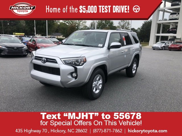 New 2020 Toyota 4Runner in Hickory, NC