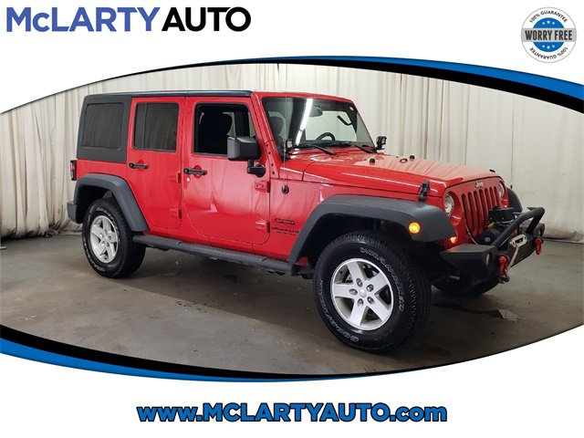 Used 2016 Jeep Wrangler Unlimited in , AR