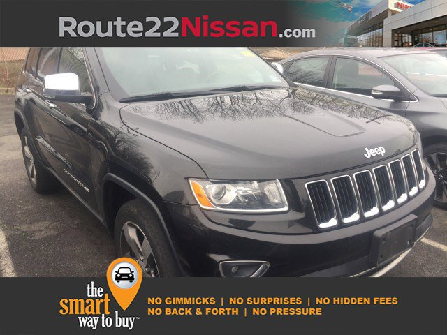 2014 Jeep Grand Cherokee Limited 4WD 4dr Limited Regular Unleaded V-6 3.6 L/220 [18]