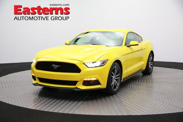 2016 Ford Mustang EcoBoost Premium Manual 2dr Car