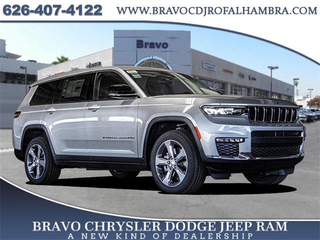 2021 Jeep Grand Cherokee L Limited Limited 4x4 Regular Unleaded V-6 3.6 L/220 [2]