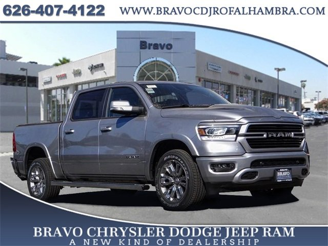 2021 Ram 1500 Laramie Laramie 4x2 Crew Cab 5'7″ Box Intercooled Turbo Diesel V-6 3.0 L/182 [1]