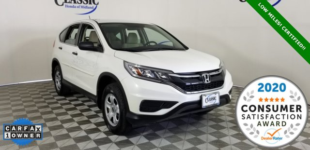 Used 2016 Honda CR-V in Midland, TX