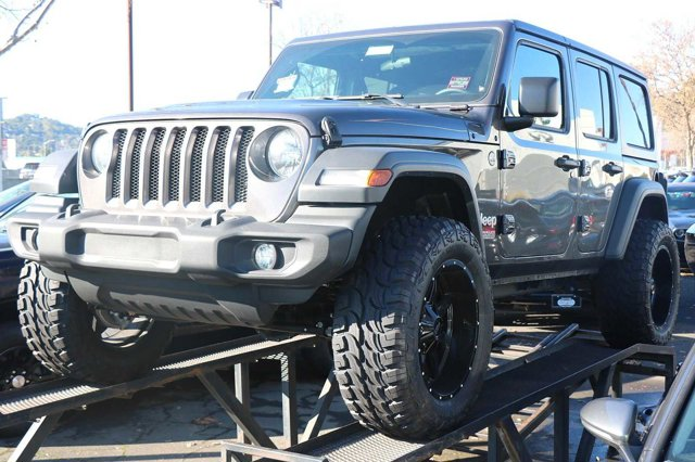 2019 JEEP WRANGLER UNLIMITED Unlimited Sport 8