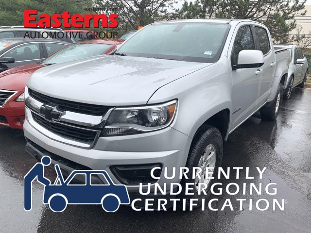 2017 Chevrolet Colorado Work Truck Crew Cab Pickup