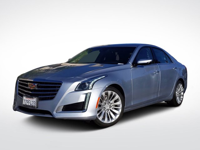 2017 Cadillac CTS Sedan Luxury RWD 4dr Sdn 2.0L Turbo Luxury RWD Turbocharged Gas I4 2.0L/122 [1]