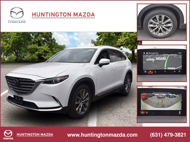 2019 Mazda CX-9 Grand Touring SNOWFLAKE WHITE PEARL MICA BLACK  LEATHER-TRIMMED SEATS  -inc 1st a