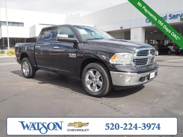 2018 Ram 1500 Big Horn Big Horn 4x4 Crew Cab 5'7″ Box Intercooled Turbo Diesel V-6 3.0 L/182 [2]