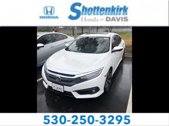 Used 2017 Honda Civic Sedan in Davis, CA