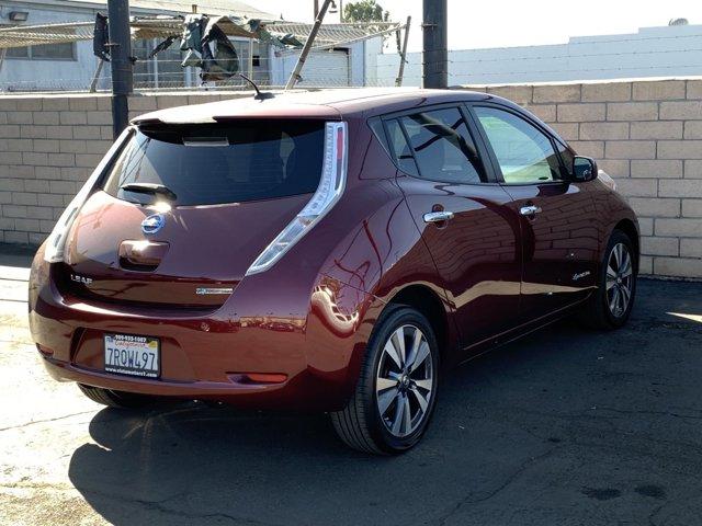 2016 Nissan LEAF SV Premium Pkg 4D Hatchback AC Electric Motor Single-Speed Fixed Gear