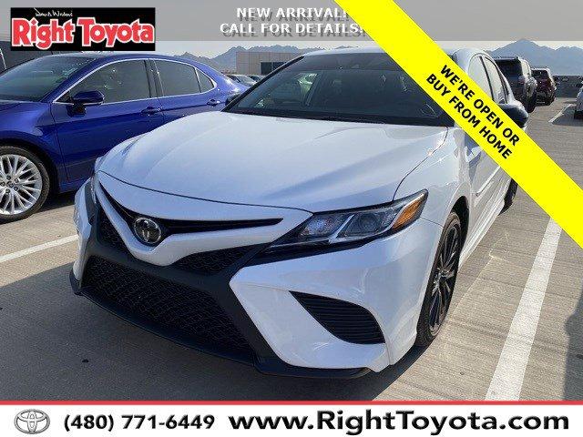 2020 Toyota Camry SE Nightshade SE Nightshade Auto Regular Unleaded I-4 2.5 L/152 [4]