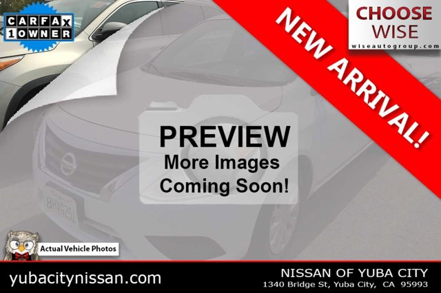 2019 Nissan Versa Sedan SV SV CVT Regular Unleaded I-4 1.6 L/98 [1]
