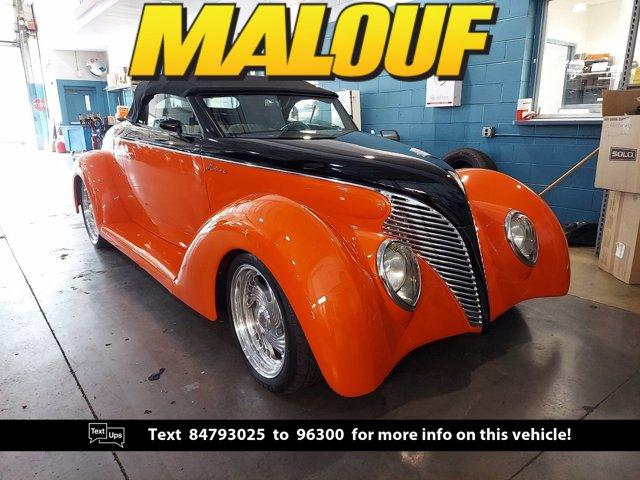 1939 Ford Roadster Orange Harley