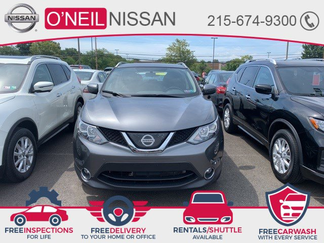2018 Nissan Rogue Sport SV 2018.5 AWD SV Regular Unleaded I-4 2.0 L/122 [0]