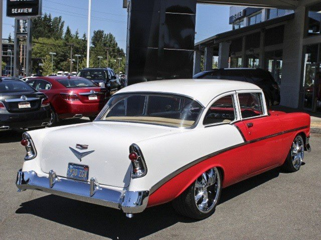 1956 Chevrolet 2 Dr Sedan Post