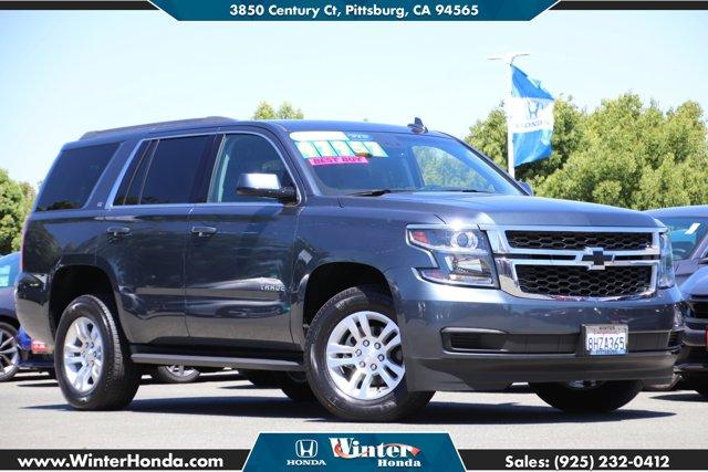 2019 Chevrolet Tahoe LT 2WD 4dr LT Gas/Ethanol V8 5.3L/ [2]