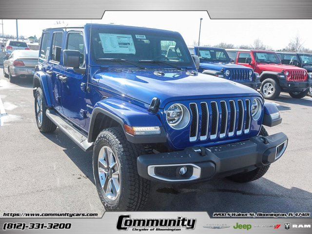 New 2019 Jeep Wrangler Unlimited in Bloomington, IN