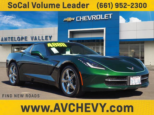 2014 Chevrolet Corvette Stingray 3LT 2dr Cpe w/3LT Gas V8 6.2L/376 [12]