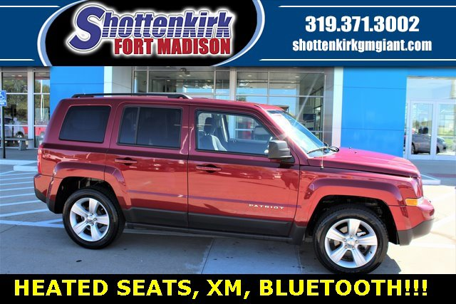 Used 2017 Jeep Patriot in Fort Madison, IA