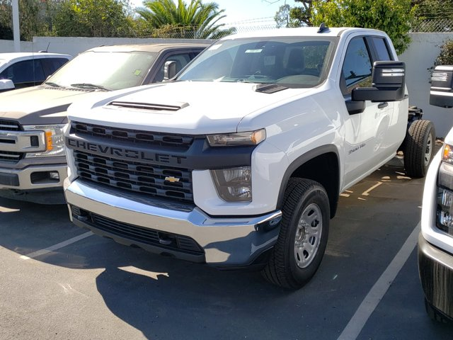 2020 Chevrolet Silverado 3500HD Work Truck 2WD Double Cab 162″ Work Truck Gas V8 6.6L/ [1]