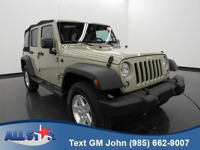 Used 2018 Jeep Wrangler JK Unlimited in Denham Springs , LA