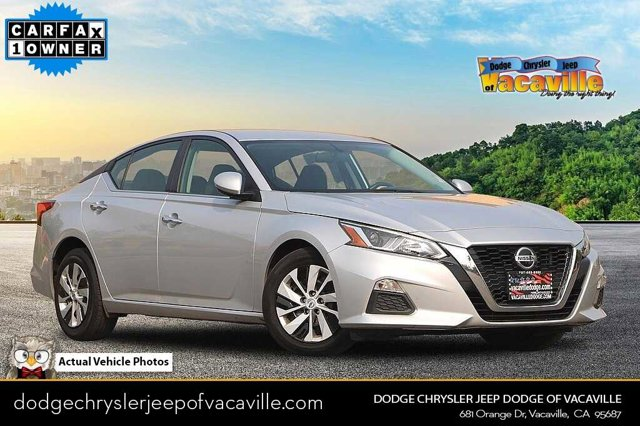 2019 Nissan Altima 2.5 S 2.5 S Sedan Regular Unleaded I-4 2.5 L/152 [15]