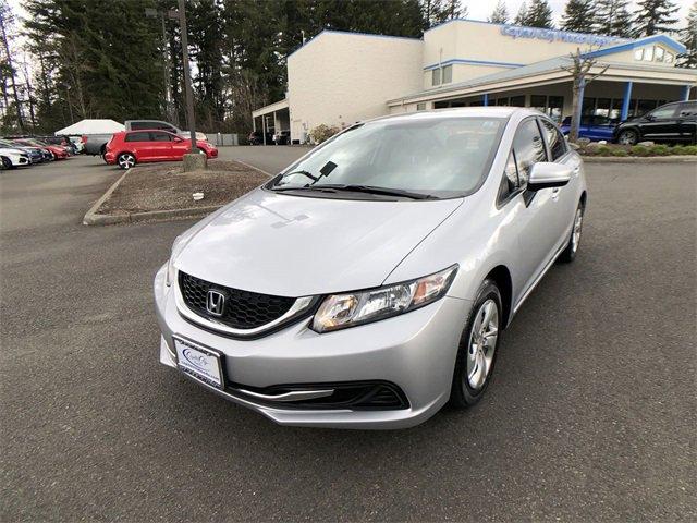 Used 2015 Honda Civic Sedan in Olympia, WA