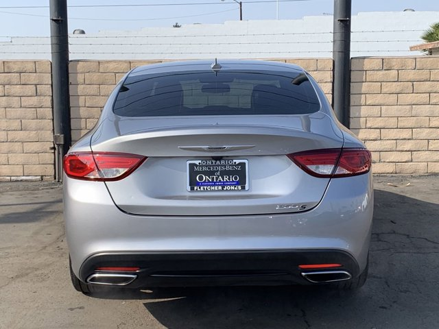 2015 Chrysler 200S Comfort Group 4D Sedan V6 3.6L