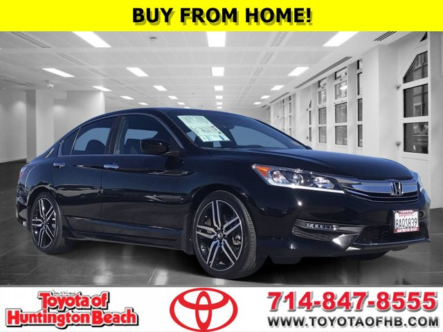 2017 Honda Accord Sedan Sport Sport CVT Regular Unleaded I-4 2.4 L/144 [8]