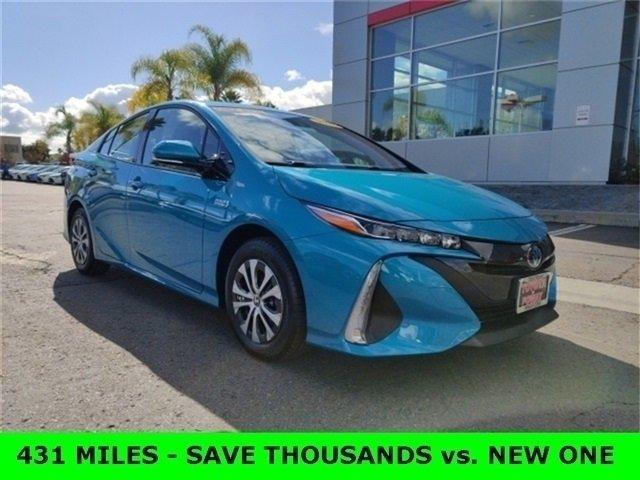 Used 2020 Toyota Prius Prime in Poway, CA