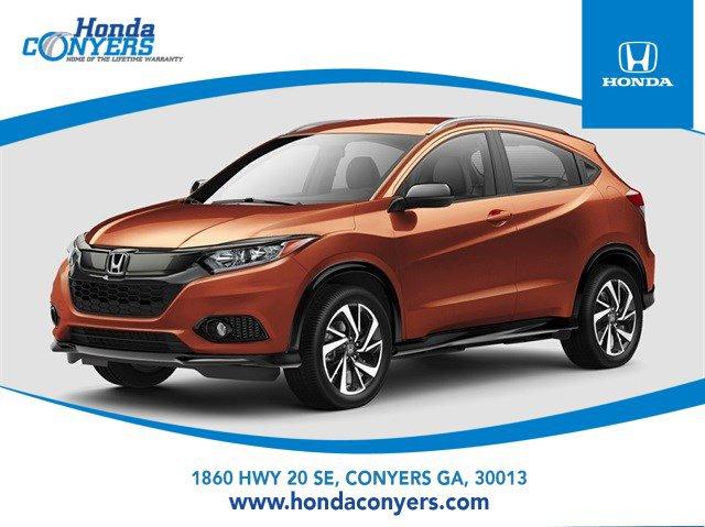 2022 Honda HR-V Sport Sport AWD CVT Regular Unleaded I-4 1.8 L/110 [8]